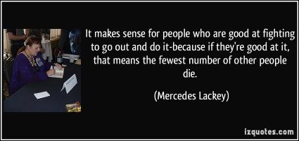 Mercedes Lackey's quote #3
