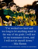 Mia Hamm's quote