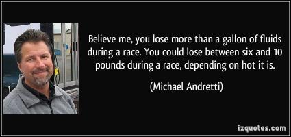 Michael Andretti's quote