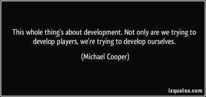 Michael Cooper's quote #2