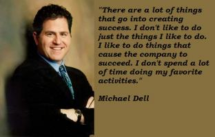 Michael Dell's quote