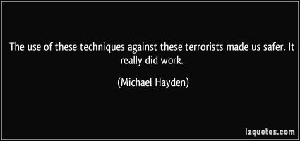 Michael Hayden's quote