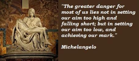 Michelangelo quote #2