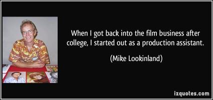 Mike Lookinland's quote #1