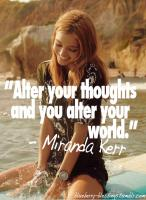 Miranda Kerr's quote