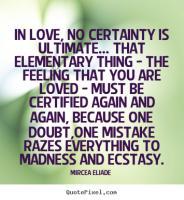 Mircea Eliade's quote