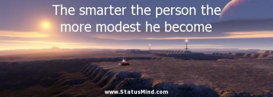 Modest Person quote #2