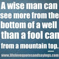 Mountaintop quote #2