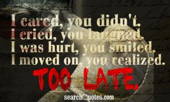 Moved On quote #2
