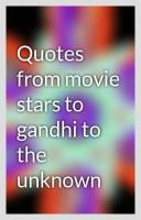 Movie Stars quote #2