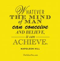 Napolean Hill's quote #4
