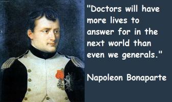 Napoleon Bonaparte's quote