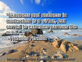 Neatness quote