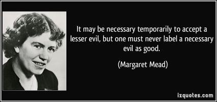 Necessary Evil quote