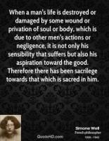 Negligence quote #2