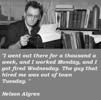 Nelson Algren's quote #3