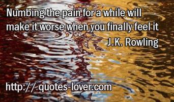 Numbing quote #1