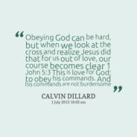 Obeying quote #1