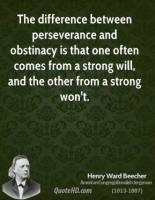 Obstinacy quote #1