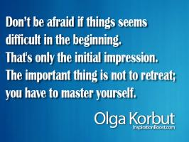 Olga Korbut's quote