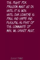 Oliver Tambo's quote #3