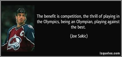Olympian quote #1