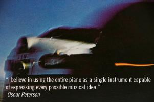 Oscar Peterson's quote