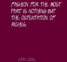 Ostentation quote #2