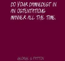 Ostentatious quote #2