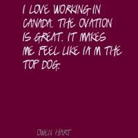 Ovation quote #1