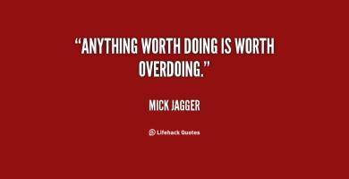 Overdoing quote #2