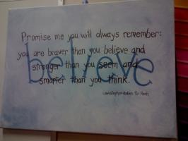 Painted quote #1
