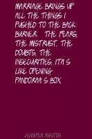 Pandora's Box quote