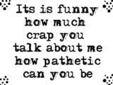 Pathetic quote