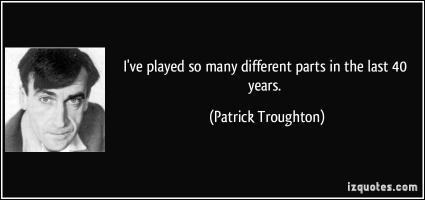 Patrick Troughton's quote #2