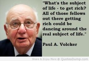 Paul A. Volcker's quote #5