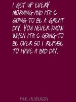 Paul Henderson's quote