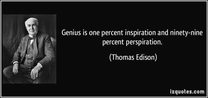 Perspiration quote #2