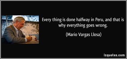 Peru quote #1