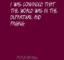 Peter Bichsel's quote #4
