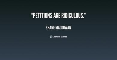 Petitions quote #1