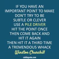 Pile quote #1