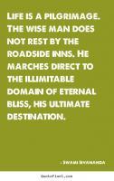 Pilgrimage quote #1