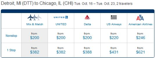 Plane Ticket quote #2
