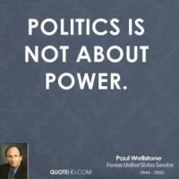 Political Power quote