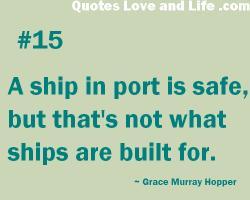 Port quote #1