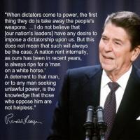President Reagan quote