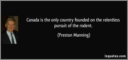 Preston Manning's quote
