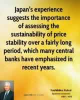 Price Stability quote #2