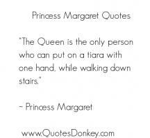 Princess Margaret's quote #4